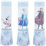 Joy Toy 68894_12 Disney Frozen (ijskoningin) LED-glitterlampen in tubeverpakking, werkt op batterijen, 3 verschillende motiev