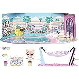 LOL Surprise Furniture, Con Bambola Dawn e 10+ sorprese, Set da gioco pieghevole per bambole in miniatura, Compatibile con ca