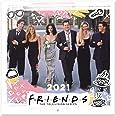 ERIK - Calendario de pared 2021 Friends, 30x30 cm, Producto Oficial