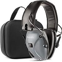 Awesafe GF01L Protection auditive électronique pour les sports d'impact [Livré avec sac de transport rigide], Protège-oreilles de sécurité, NRR 22 dB, Idéal pour les tireurs et Hunting
