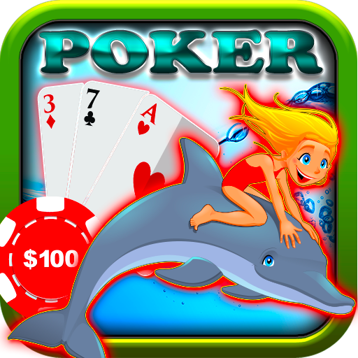 Poker Free Game Stars Fish Shoreline Harbor Scene (Star Harbor)