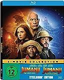 Jumanji: The Next Level / Jumanji: Willkommen im Dschungel (Exklusiv bei Amazon.de) - Steelbook Blu-ray