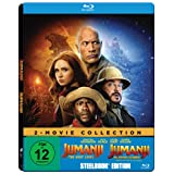 Jumanji: The Next Level / Jumanji: Willkommen im Dschungel (Exklusiv bei Amazon.de) - Steelbook [Blu-ray]