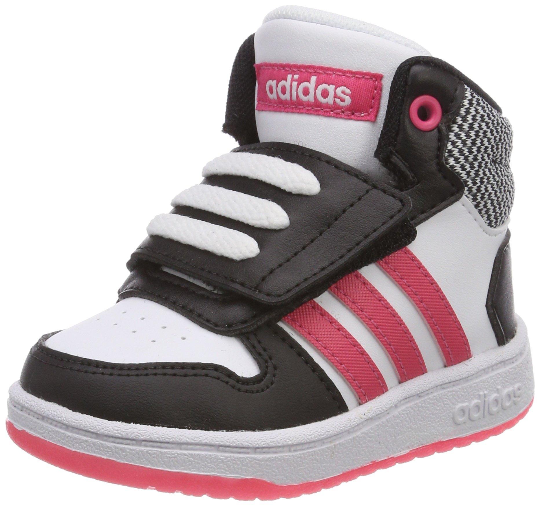 c3cad68187 adidas Unisex-Kinder Hoops Mid 2.0 Basketballschuhe Weiß Ftwwht ...