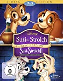 Susi und Strolch 1+2 [Blu-ray]