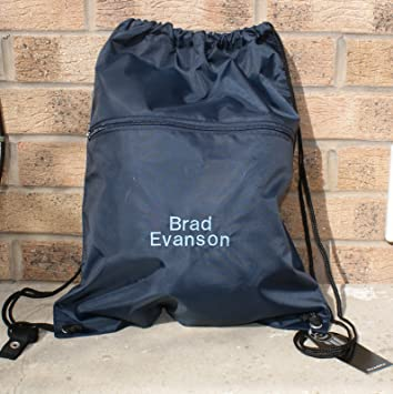 Personalised Swim Bag Kids Sports Waterproof Gym