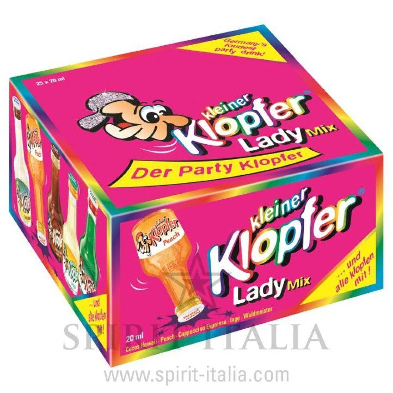 Kleiner Klopfer Lady Mix 16,00-17,00 % 25 x 2 cl.