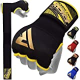 RDX Boxing Hand Wraps Inner Gloves, Quick 75cm Long Wrist Straps, Elasticated, Padded Fist Hand Protection, Muay Thai MMA Mar