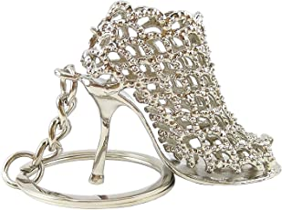 Trouper Rhinestone Crystal Shoe Keychain