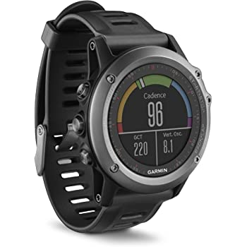 Garmin Fenix 3 GPS Multisport Watch with Outdoor Navigation - Grey