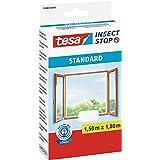 tesa Insect Stop Standard Vliegenhor voor Ramen - Insectenhor, raamhor - Met klittenband - Snij uw eigen horraam op maat - Mu