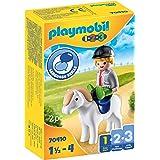 PLAYMOBIL 1.2.3 Jongen met pony - 70410