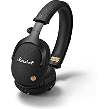 Marshall 04091743 Monitor Bluetooth Wireless Over-Ear Headphone (Black)