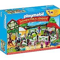 PLAYMOBIL Adventskalender 9262 Reiterhof, Ab 4 Jahren