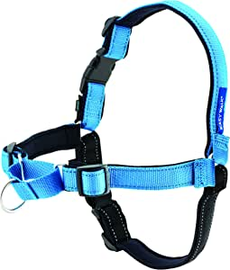 PetSafe, Easy Walk Deluxe Harness/leash, No pull, Training, Adjustable for small/medium/large dogs Large, Ocean Blue, 1.8 m