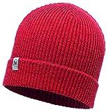 Buff Kinder Knitted und Polar Hat Mütze, Sparky Red, One Size