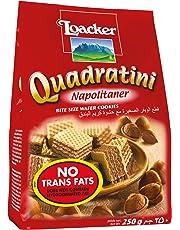 Loacker Quadratini Napolitaner Wafer, 250g