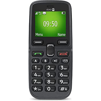 Doro 5030 Easy To Use 2G UK SIM-Free Mobile Phone - Graphite