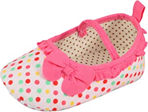 Instabuyz Newborn/Pre-Walker/Infant Baby Boy's & Girl's Cute Anti-Collision Sandals/Shoes (3-12 Months) - Multicoloured