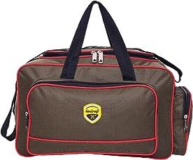 Hard Craft Lightweight Waterproof Luggage Travel Duffel Bag - Khadi Green