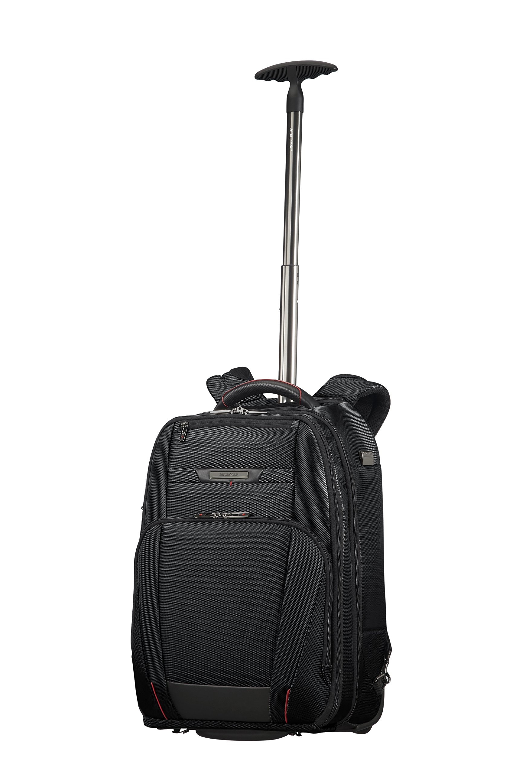 SAMSONITE Pro-DLX 5 – Wheeled Backpack for 17.3″ Laptop 2.6 KG Mochila Tipo Casual, 48 cm, 28 Liters, Negro (Black)