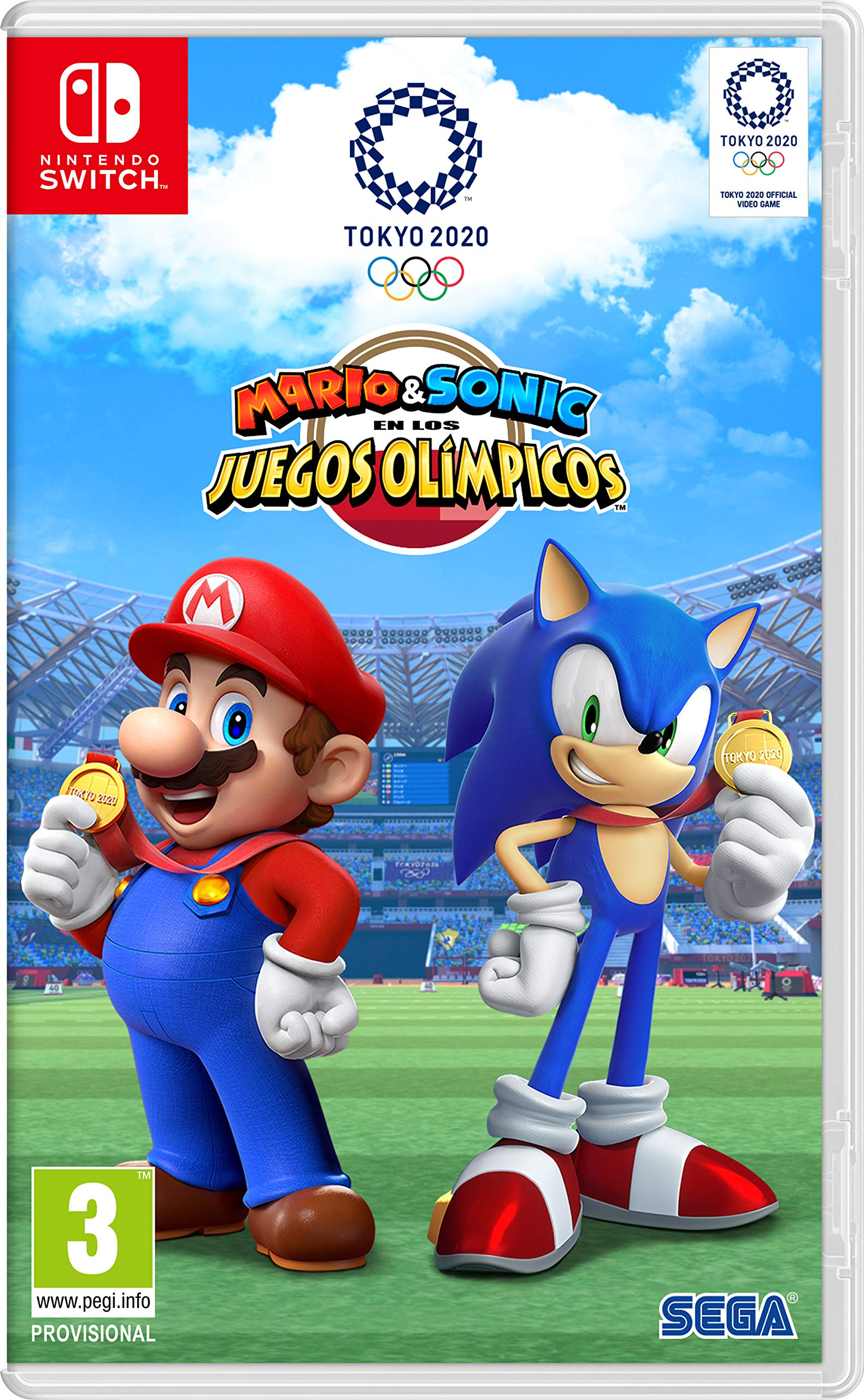 Mario & Sonic at the Olympic Games Tokyo 2020 Twister Family ES