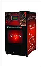 Atlantis Vending Machine with 3 Options for Tea Coffee Soup (Red)