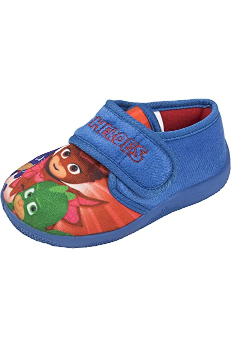 PJ Masks Roan Boys Slippers Size 5