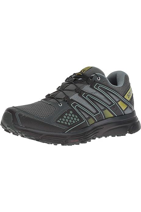Salomon XA Lite GTX, Zapatillas de Trail Running para Hombre, Azul/Lima (Indigo Bunting/Snorkel Blue/Sulphur Spring), 42 EU: Amazon.es: Zapatos y complementos