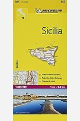 Michelin Sicilia 1:220.000 Local Map (Michelin Local Maps) Map