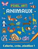 Pixel art Animaux : colorie, crée, pixélise