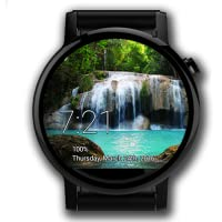 Animated Waterfall Watch Face