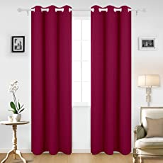 Cloth Fusion Olio Faux Silk Curtains Set of 2- with 2 Tie Backs