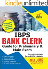 IBPS Clerk Guide for Preliminary & Main Exams - 7th Edition