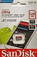 Sandisk SDSQUAR-128G-GN6MN 128GB  Micro SD Kart (U1, C10, A1, UHS-1, 100MB/s R)