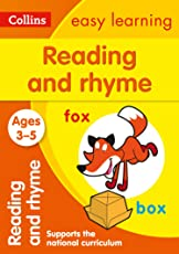 Reading and Rhyme Ages 3-5: New Edition (Collins Easy Learning Preschool)