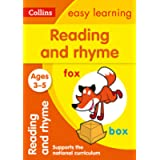 Reading and Rhyme Ages 3-5: Ideal for home learning (Collins Easy Learning Preschool)