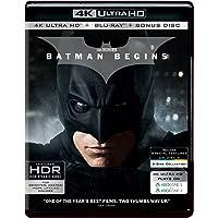 Batman Begins (4K UHD + HD + Bonus) (3-Disc Set)