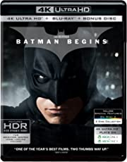 Batman Begins (4K UHD + HD + Bonus) (3-Disc Set)