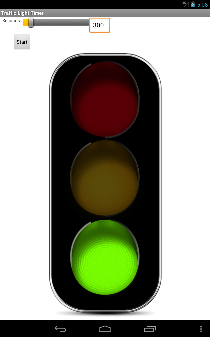 Traffic Light Countdown Timer: Amazon.co.uk: Appstore for