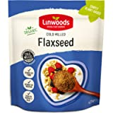 Linwoods Organic Milled Flaxseed, 425 g - Pack of 2.