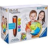 Ravensburger Exklusives Tiptoi Starter-Set 00068: Stift und Junior-Globus-Lernsystem für Kinder ab 4 Jahren [Exklusiv bei Ama