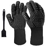 Guanti per barbecue, guanti estremamente resistenti al calore per forno, cucinando ,grigliate , cottura al forno , guanti da