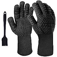 Guanti per barbecue, guanti estremamente resistenti al calore per forno, cucinando ,grigliate , cottura al forno…