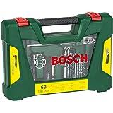 Bosch V-Line 2607017191 - Set punte per trapano, 68 pz.