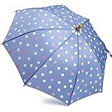 Hatley Paraguas de lunares de mariposa para niñas pequeñas