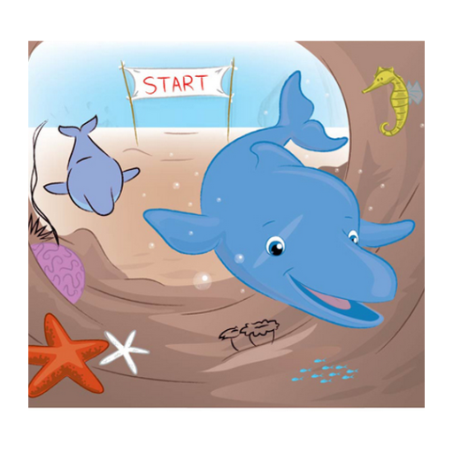 The Golden Dolphin Free Coloring App