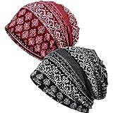 EEVASS Berretto Elasticizzato da Donna Beanie Hat Headwear Bandane Multiuso