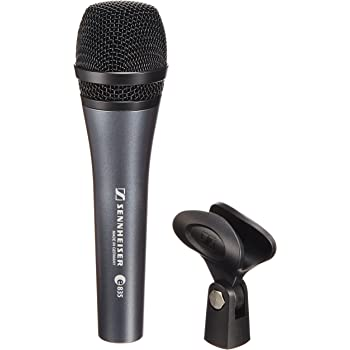 Sennheiser e 835 Microfono Professionale Dinamico Cardioide Per Voce + Supporto + Astuccio