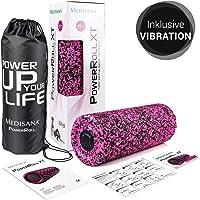 Medisana PowerRoll XT Ultrasoft, Faszienrolle, Schaumstoffrolle für Faszienübungen mit Trainingsplan, Massagerolle für…